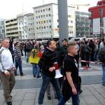 Gestern mittendrin zwischen Neonazis und Hooligans: Dominik Roeseler, Funktionär von Pro NRW